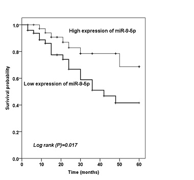 Analysis of the diagnostic and prognostic value of miR-9-5p in carotid artery stenosis